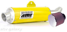 HMF Honda TRX 400EX 1999 - 2013 Yellow Slip On Exhaust Muffler & K&N Air Filter
