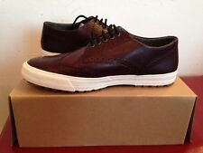 BNIB MENS/BOYS FRED PERRY ASHTON BROGUE LEATHER OX BLOOD SIZE 7
