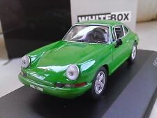 1968 Porche 911 T - Green - Diecast Model Car 1/43 Whitebox