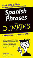Spanish Phrases For Dummies,VERYGOOD Book