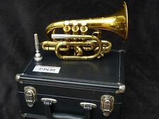WONDERFUL BENGE POCKET TRUMPET CORNET LOUIS DUDA MODEL YEAR 1991