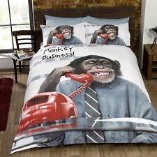 Impresión Fotográfica Monkey D' conjunto de edredón único.