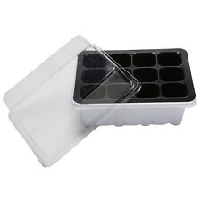 12Hole Plant Seeds Grow Box Insert Propagation Nursery Seedling Starter Tray