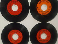 """LOT OF 4 ' """"LITTLE"""" JIMMY DICKENS ' HIT 45's       THE 60's!"""