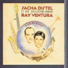 CD SINGLE 2 TITRES PROMO SACHA DISTEL & SES COLLEGIENS A LA MI AOUT