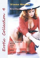 Erotic Collection 4. Tinto Brass. 2 DVD set. 4 movies in Italian. No Subtitles