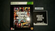 GRAND THEFT AUTO V GTA 5 EDITION COLLECTOR LIMITEE NEUF XBOX 360 + ARTBOOK