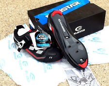 Exustar E-SR423 Cycling Shoes Road Size 40 / 7.0 Black NEW in Box SPD-SL LOOK 3M