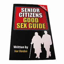 Novelty Notebook Sex Guide Senior Citizens A5 Blank Funny Gift Diabolical