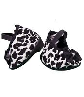 "Leopard print shoes with heels / Teddy Shoes to fit 15"" (40cm) Build a Bear"