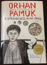 A Strangeness in My Mind - by Orhan Pamuk. SIGNED!
