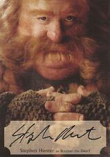 The Hobbit Desolation of Smaug: SH-P Stephen Hunter Poster Autograph Card #51/75