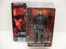 2003 McFarlane Toys Spawn Terminator T-850 Autographed Todd McFarlane Figure