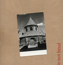 Cambridge holy Sepulchre Church real photo Tucks unposted Art