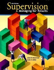Supervision : Managing for Results by Lester R. Bittel and John W. Newstrom (200