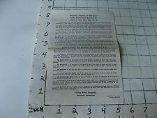 vintage Slide Rule Instructions: c-thru pocket slide rule no 27 & 88