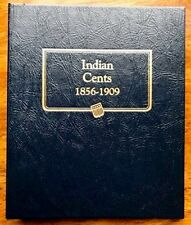 Indian Head Cent Coin Collection 1859 – 1909 in Whitman Classic Album