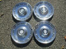 genuine 1976 to 1979 Dodge Aspen hubcaps wheel covers set