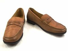 Neu - HARRYKSON - echt Leder Mokassins - Gr. 44 - braun - Slipper Schuhe Herren