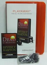 NEW Dead by Nightfall PLAYAWAY AUDIOBOOK Beverly Barton Unabridged Karen Wh