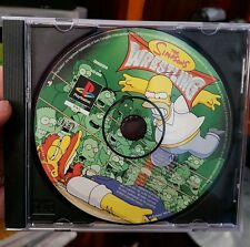 The Simpsons Wrestling (disc only)- PS1 SONY PLAYSTATION 1 �� ���� FREE POST