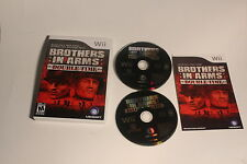 Nintendo Wii - Brothers in Arms: Double Time - CIB Complete