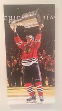 2015 Jonathan Toews canvas 14x28 Chicago Blackhawks Frameworth  w/ Stanley Cup