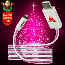 MFi visible LED Lighted up charging Lightning to USB cable for iPhone SE 5 6s 7