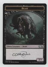 2014 Magic: The Gathering - Core Set: 2015 Booster Pack Base T5 Tokens Beast 2k3