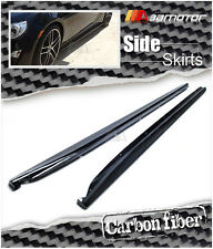 CARBON FIBER SIDE SKIRT EXTENSIONS for SUBARU BRZ TOYOTA 86 SCION FR-S FT86 ZN6