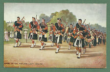 C1910'S PC HARRY PAYNE - PIPERS OF HIGHLAND LIGHT INFANTRY - RAPHAEL TUCK