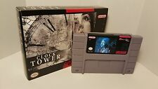 Clock Tower / Clocktower - English SNES Super Nintendo Sealed in Box NTSC
