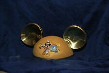 2005 50th Anniversary Disneyland Mickey Mouse Golden Gold Ears Adult Hat NWT NEW