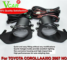 Auto Fog Lamp For Toyota Corolla Axio / Fielder 2007 ON /With Frame cable switch
