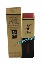 YSL Rouge Pur Couture Vernis A Levres (35 Pink Radiance) Lipgloss NITB
