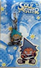Soul Eater Black Star Fastener Metal Charm Anime Manga Game MINT