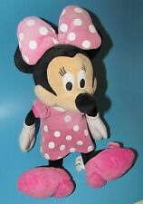Disney Store Clubhouse Mickey MINNIE MOUSE Pink Mini Bean Stuffed Plush Doll