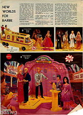 1978 ADVERT 4 Pg Doll Barbie Ken Donny Marie Charlie's Angels Shaun Cassidy