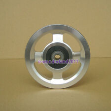 Universal 88mm Aluminium alloy Bearing Pulley Wheel Cable Gym Equipment Part