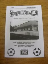 07/08/2014 The Footballer Traveller: Vol 28 Issue 02 - Keynsham Town & Knutsford