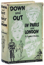 George Orwell-DOWN & OUT IN PARIS & LONDON (1933)-1ST US ED, NEAR FINE/VERY GOOD
