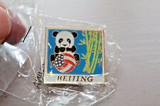 Rare 2008 Team USA Volleyball pin featuring PANDA BEAR from BEIJING Olympics