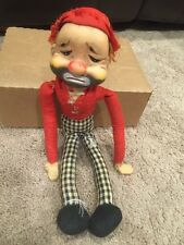 Rushton Red Skelton Hobo Freddie Freeloader Rubber Face Bum