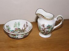 COALPORT MINIATURE WASHBOWL and JUG SET ~ Indian Tree Design