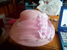 Betmar New York Pink Wide Brim- Sun Hat-NWT