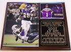 Adrian Peterson #28 2007 NFL Rookie of the Year Minnesota Vikings Photo Plaque