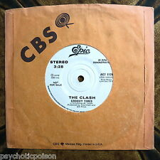 "CLASH ‎– Gates Of The West / Groovy Times - Promo 7"" Epic AE7 1178 - CANADA"