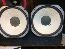 "Pair JBL LE14A 14"" Low Frequency Drivers Woofers Refoamed Lancer 99"