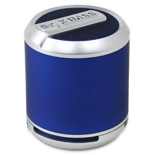Divoom Bluetune Solo Portable Bluetooth Speaker & Speakerphone System (BLUE)