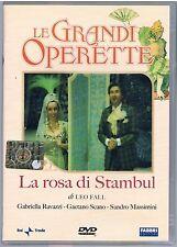 LE GRANDI OPERETTE LA ROSA DI STAMBUL G. RAVAZZI G.SCANO DVD RAI TRADE FABBRI ED